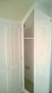 Bespoke built in wardrobes after 2